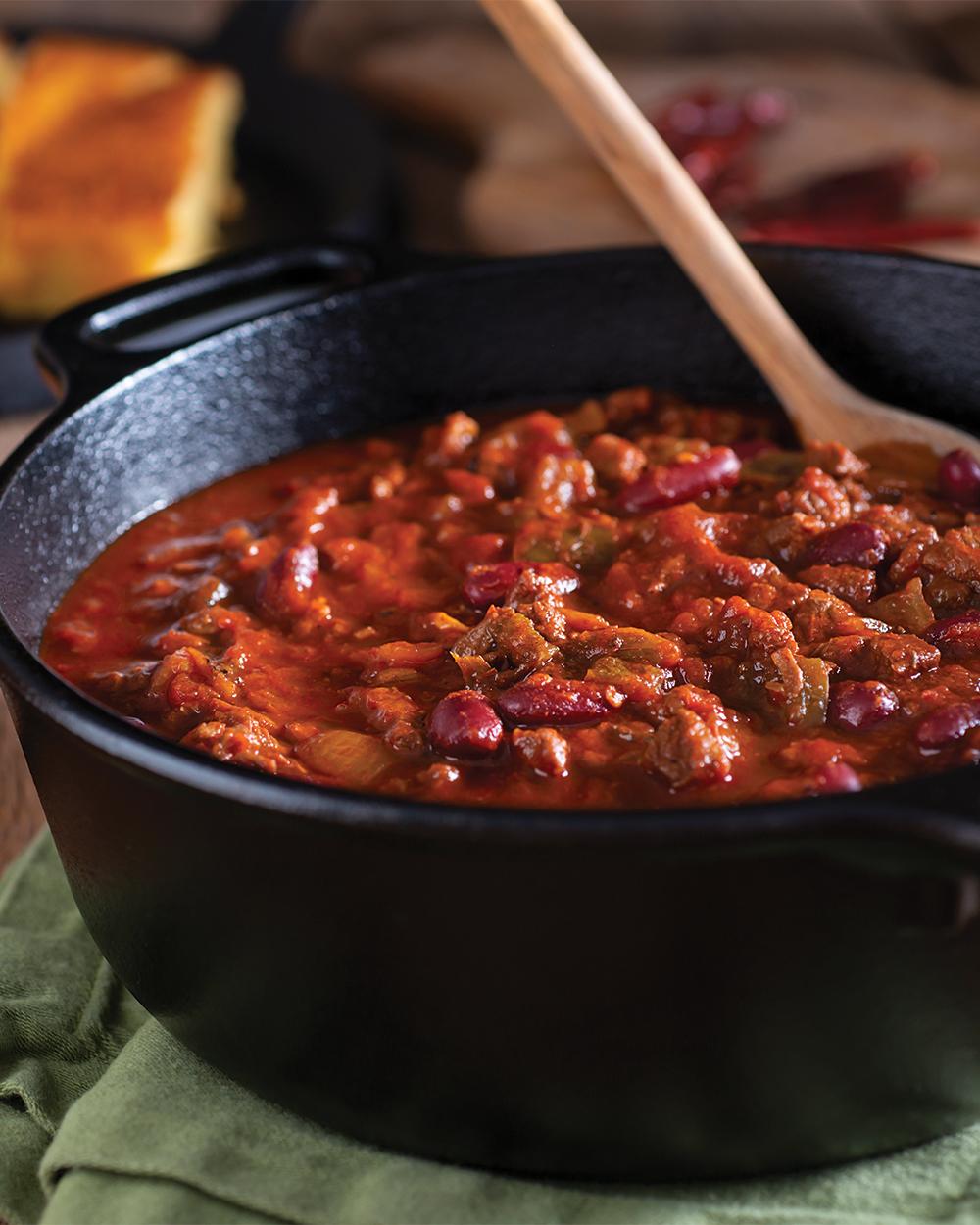 3-Bean Meatless Chili